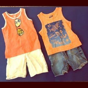 Toddler Boys Short Set